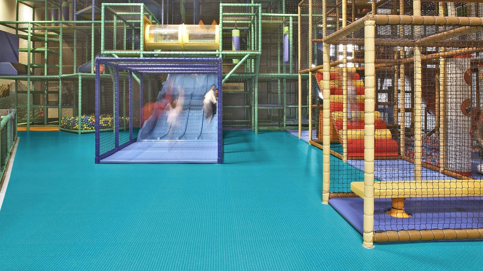 Sportovní plošné podlahy