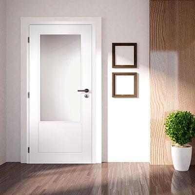 Profilované dveře - řada Quatro, Clara, PUR