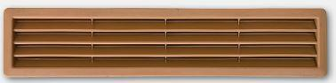 Ventilační mřížka PVC přizpůsobené dekoru