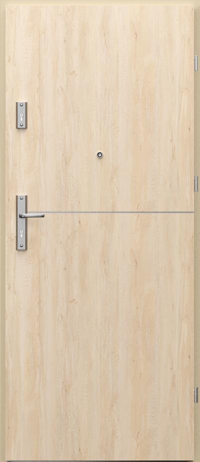 Intarsie 7 - na jednu stranu dveří