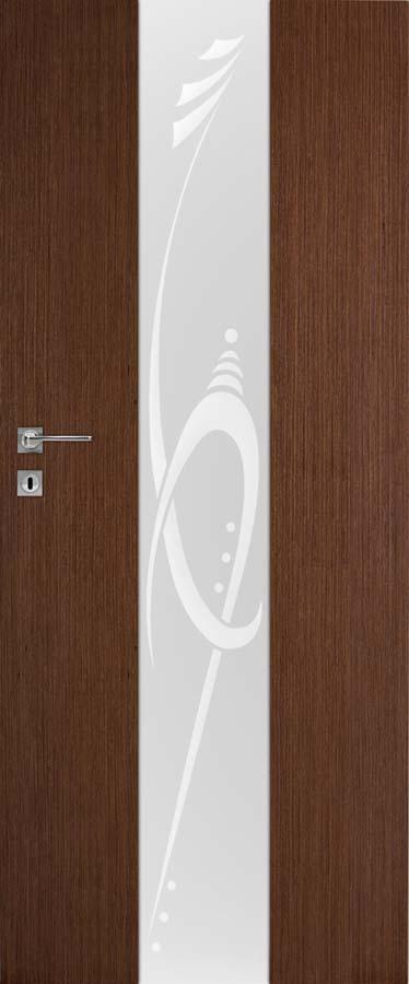 Interiérové dveře DRE Vetro natura B2