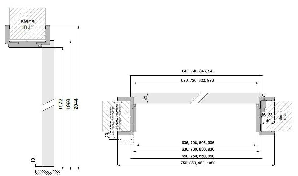 Interiérové dveře DRE Rivia 10