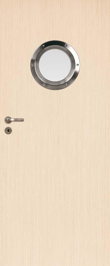 Interiérové dveře DRE Standard natura 40 Bulaj nerezový