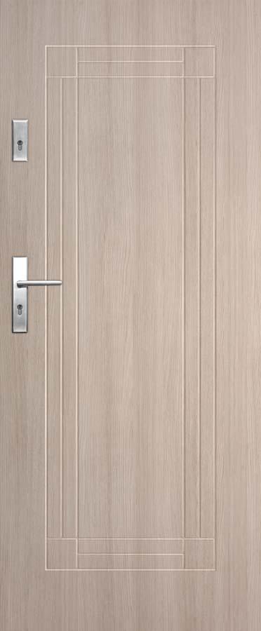Vchodové dveře do bytu DRE Solid 4