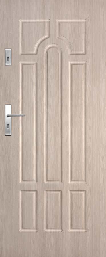 Vchodové dveře do bytu DRE Solid 6