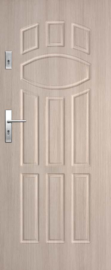 Vchodové dveře do bytu DRE Solid 9