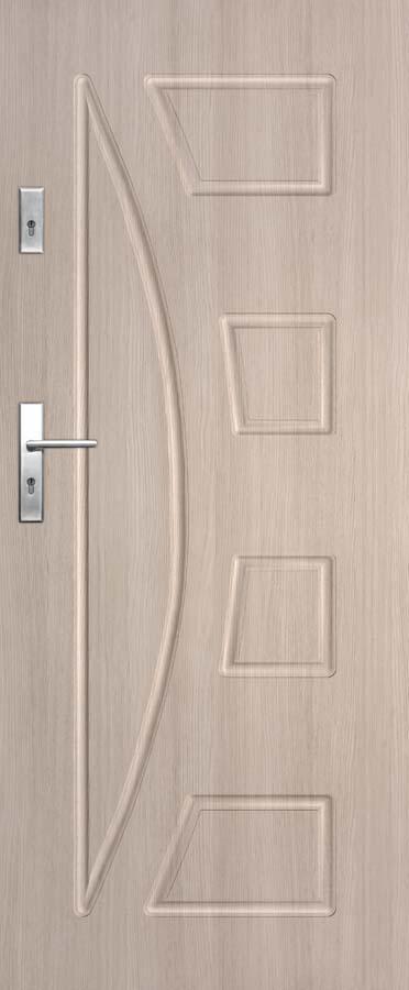 Vchodové dveře do bytu DRE Solid 17