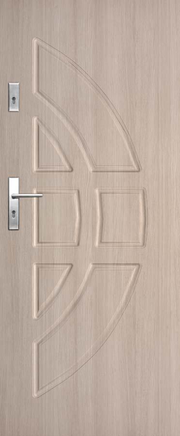 Vchodové dveře do bytu DRE Solid 13