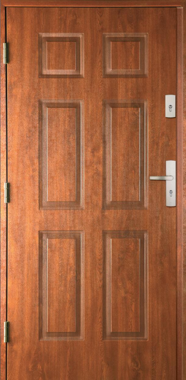 Vchodové dveře do domu MIKEA Thermika 4+2 Panely