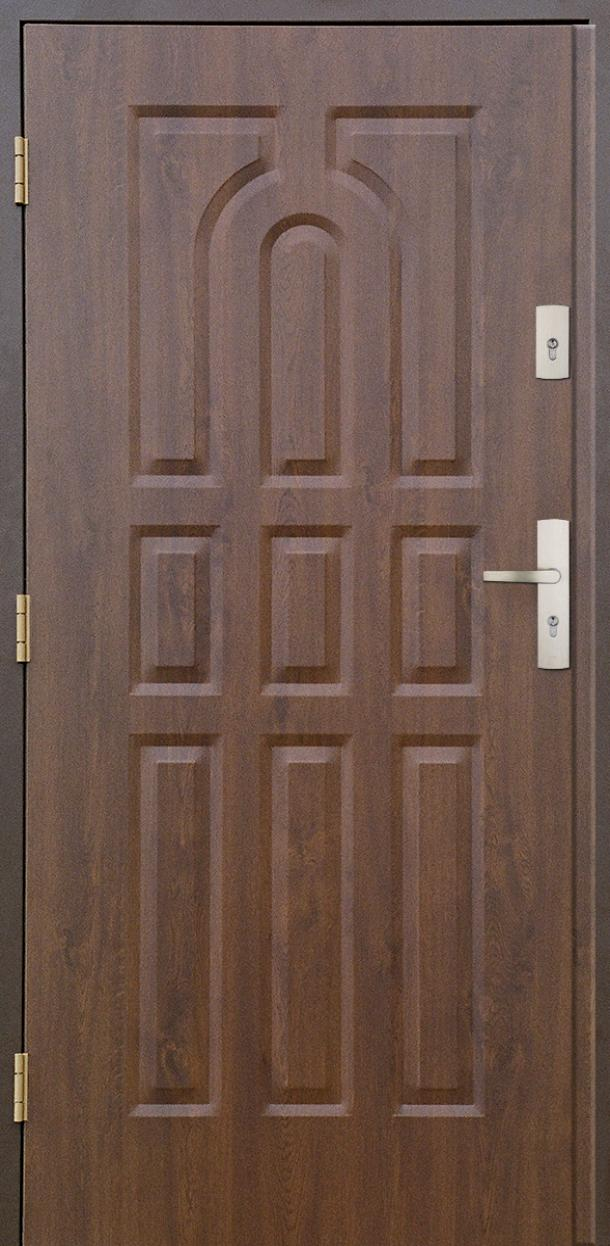 Vchodové dveře do domu MIKEA Thermika 9 Panelů