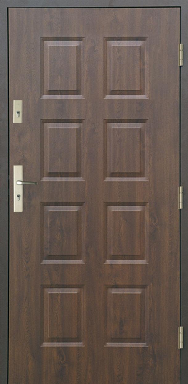 Vchodové dveře do domu MIKEA Thermika 8 Panelů