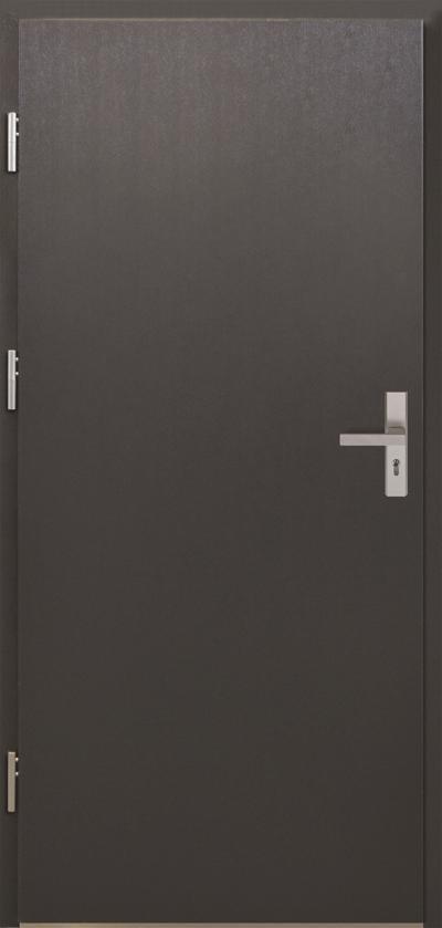 Vchodové dveře do domu MIKEA Thermika Plné