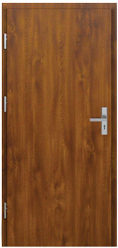 Vchodové dveře do domu MIKEA Pasiv Plné