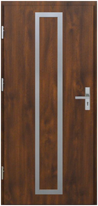 Vchodové dveře do domu MIKEA Pasiv Correra