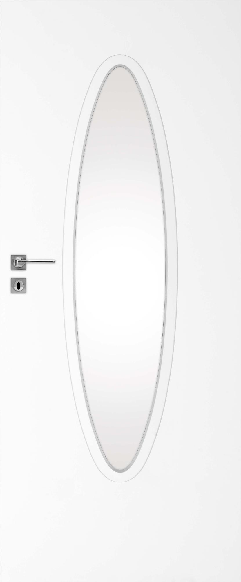 Interiérové dveře DRE Blanco 110 se zrcadlem