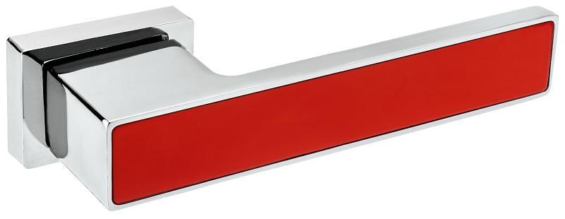 Roothkin ROYAL VR1 Chrom lesklý/Červená RAL 3020