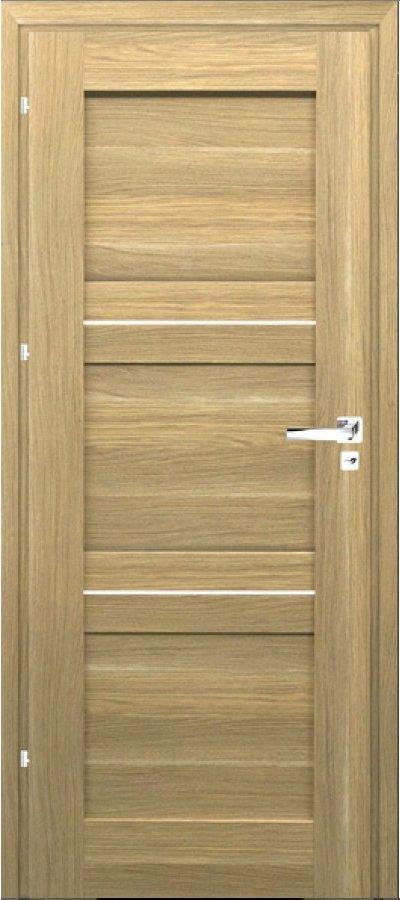 Rámové dveře Windoor TRE ALU plné