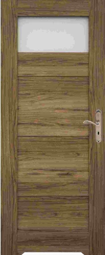 Rámové dveře Windoor SYRIUSZ WC