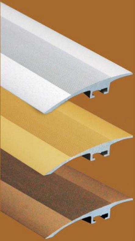 Přechodový profil FERO-FLEX plochý 5-15mm DURAL-ELOX délka 1m