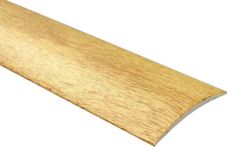 """Přechodový profil """"MAXI"""" 40x4,3mm DURAL samolepící délka 2,5m"""