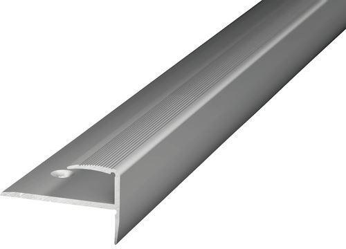 Schodový profil šroubovací 8,5mm Dural elox délka 1m