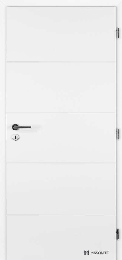Interiérové dveře Masonite - Quatro plné