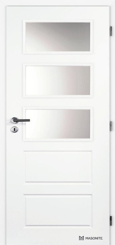 Interiérové dveře Masonite - Oregon sklo