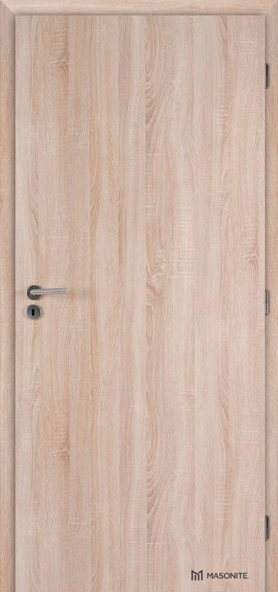 MASONITE - Protihlukové protipožární dveře PLNÉ EI30, 34-35 dB