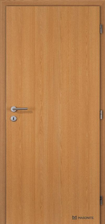 Interiérové protihlukové dveře MASONITE - Plné
