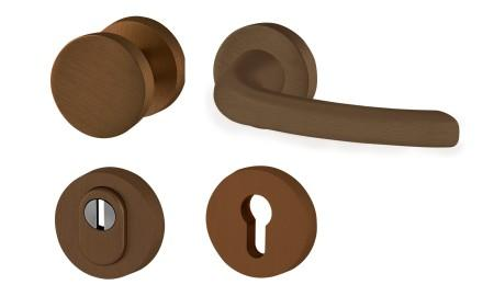 Cobra - bezpečnostní kování tř. 3 - DIANA-R+ - F4 - bronzový elox
