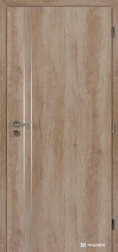 MASONITE - interiérové dveře ALU II