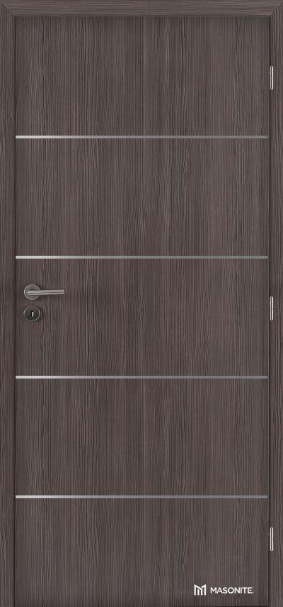 MASONITE - interiérové dveře ALU IV