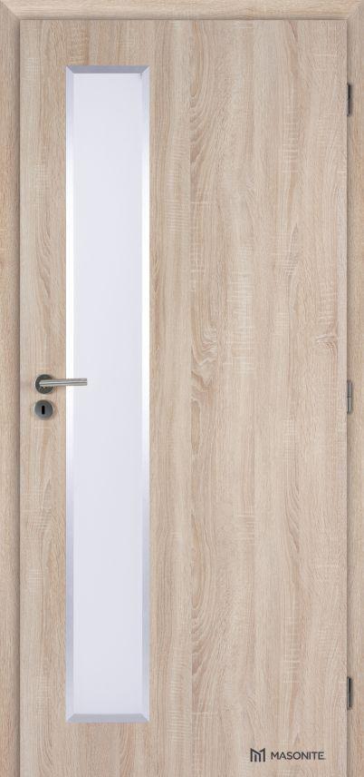 MASONITE - interiérové dveře ALU VERTIKA