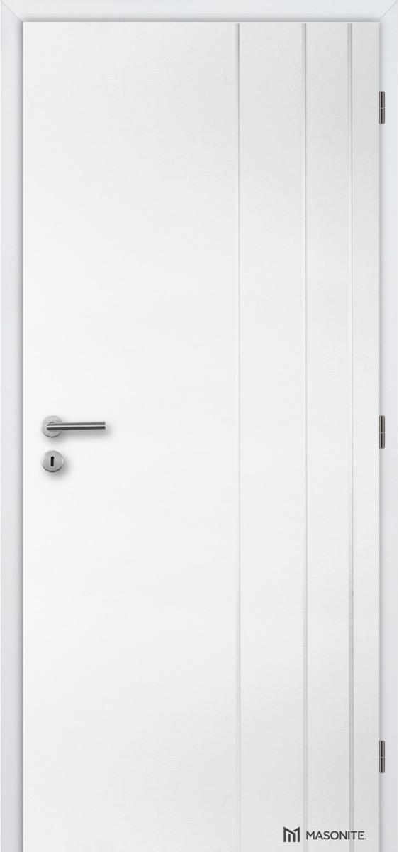 MASONITE - interiérové dveře CLARA  BORDEAUX plné