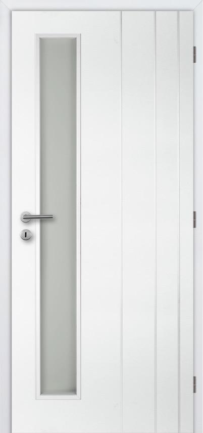 MASONITE - interiérové dveře PUR BORDEAUX VERTIKA