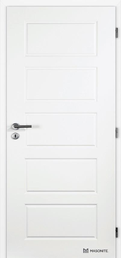 MASONITE - interiérové dveře PUR OREGON plné