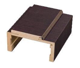 Nastavitelná obložka bezfalcová DRE Lesk Standard, Lesk Metalik, Mat Standard výška 2240 mm