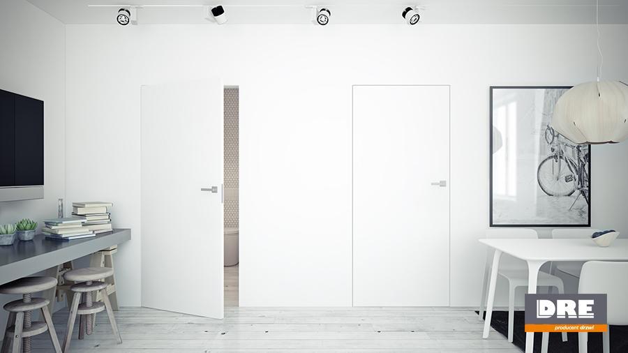 Interiérové dveře DRE se skrytou zárubní SARA ECO výška 204 - bezfalcové