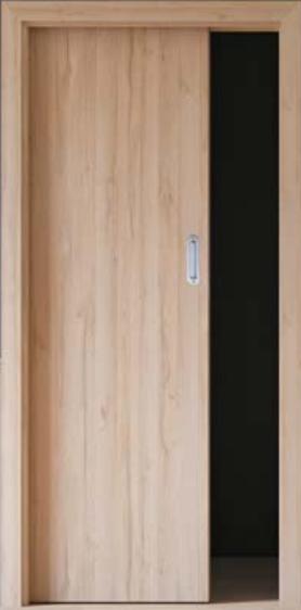 Stavební pouzdro Eclisse STANDARD do zdiva jednokřídlé