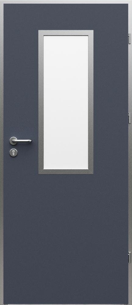 Interiérové dveře Porta AQUA včetně kovové zárubně - model 1