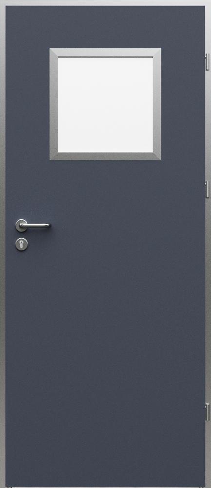 Interiérové dveře Porta AQUA včetně kovové zárubně - model 2