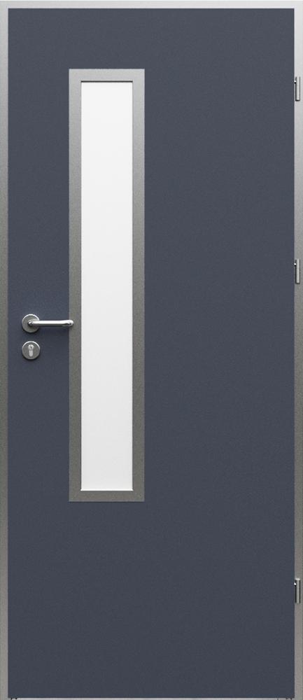 Interiérové dveře Porta AQUA včetně kovové zárubně - model 3