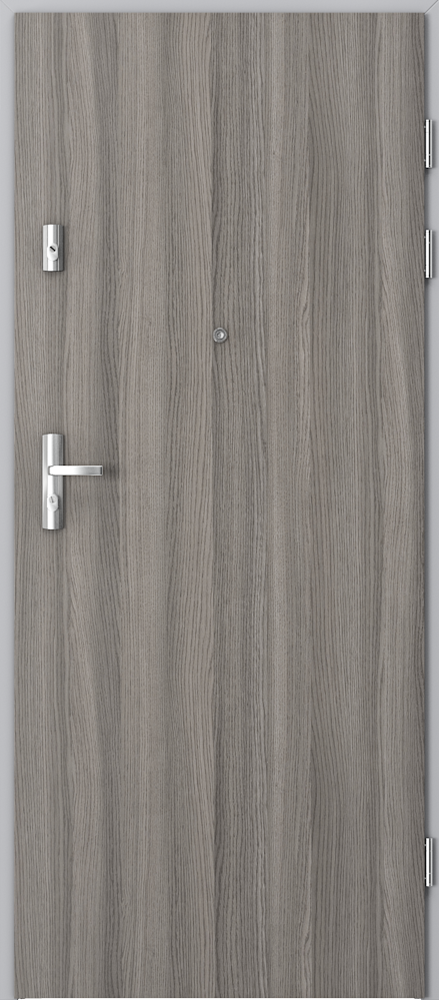 Vchodové vnitřní dveře Porta AGAT s ocelovou zárubní, 32 dB