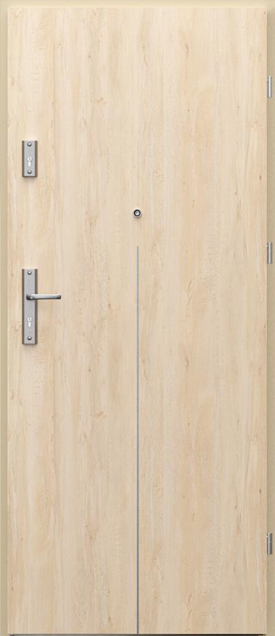 Vchodové vnitřní dveře Porta OPAL s ocelovou zárubní, 32 dB