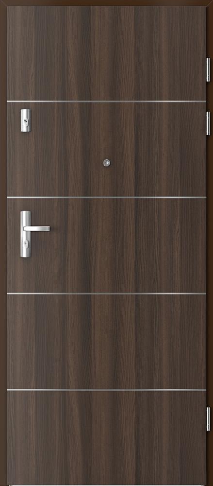 Vchodové vnitřní dveře Porta KWARC RC 2 s ocelovou zárubní, EI 30, 32 dB
