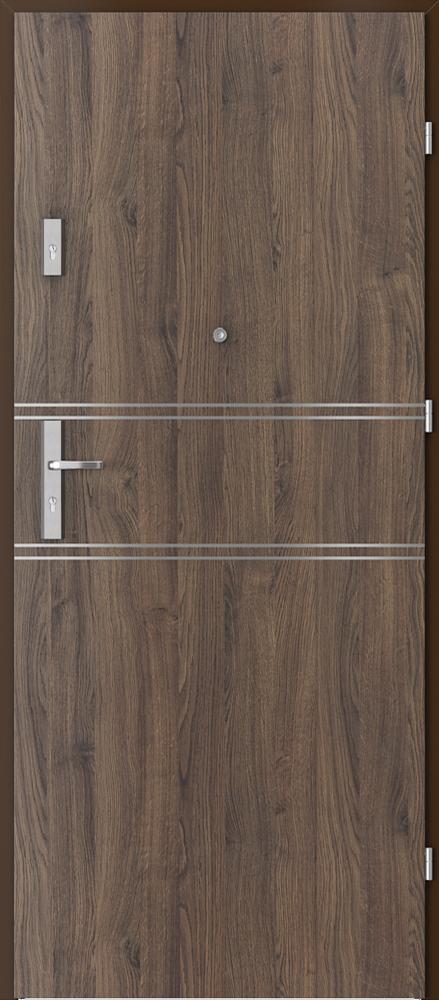 Vchodové vnitřní dveře Porta EXTREME RC 3  TYP II s ocelovou zárubní, 40 dB, EI 30, kouřotěsné