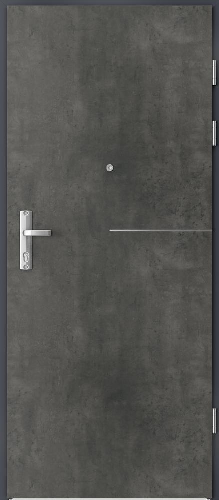 Vchodové vnitřní dveře Porta GRANIT RC 3 TYP I s ocelovou zárubní, 32 dB, kouřotěsné