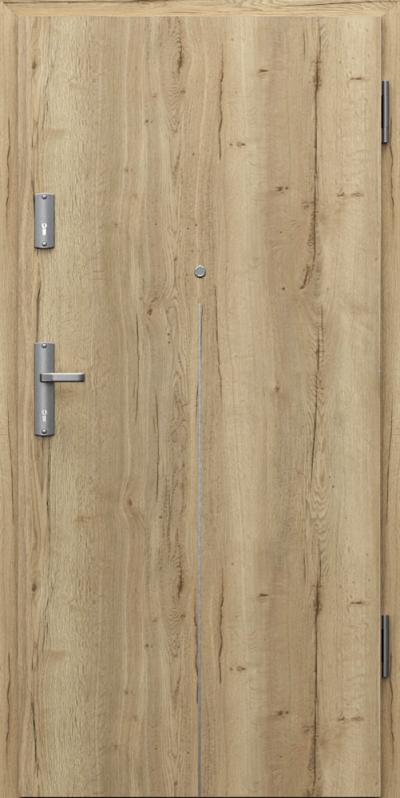 Vchodové vnitřní dveře Porta GRANIT RC 3 TYP II s regulovanou obložkovou zárubní, EI 30, 32 dB, kouřotěsné