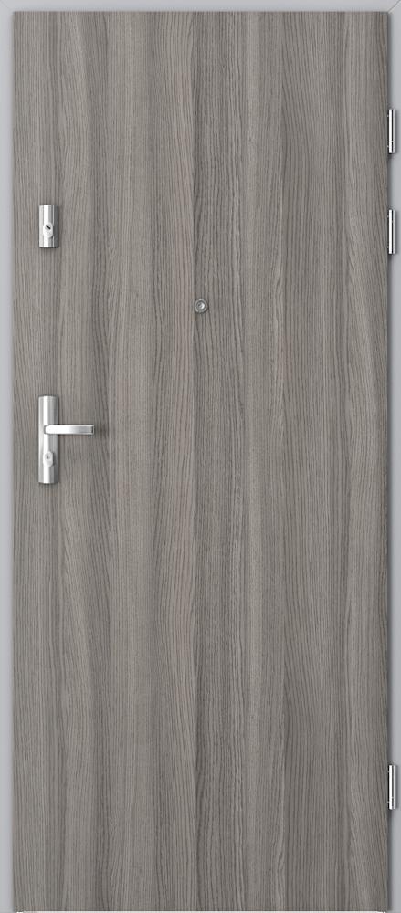 Vchodové vnitřní dveře Porta GRANIT třída C TYP II s ocelovou zárubní, EI 30, 37 dB, kouřotěsné