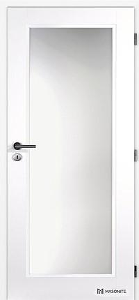 MASONITE - interiérové dveře CLARA sklo 4/5
